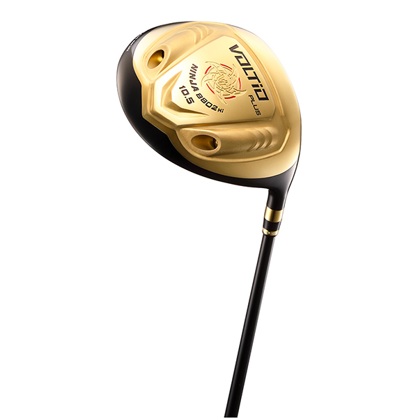 カタナゴルフ VOLTIO NINJA PLUS 8802Hi ゴールド ドライバー 超高反発 オリジナルSpeeder 462 EVOLUTION カーボンシャフト 9.5 フレックス:R 【日本正規品】