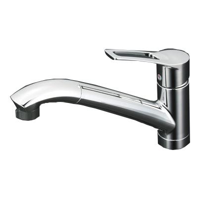 【送料無料】クリナップ ZZKM5031TCL-E [シングルレバーシャワーホース付水栓]