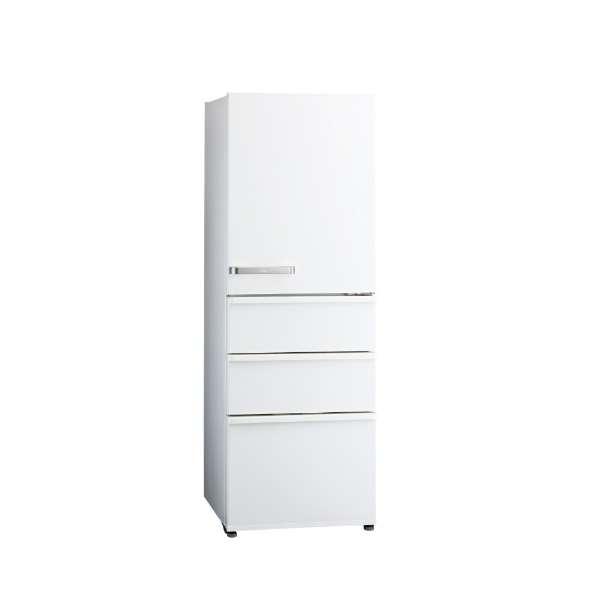 【送料無料】AQUA AQR-36G-W ナチュラルホワイト [冷蔵庫 (355L・右開き)] 【代引き・後払い決済不可】【離島配送不可】
