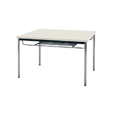 【送料無料】生興 MTS-0990ISG(ニューグレー) テーブル [棚付]【同梱配送不可】【代引き不可】【沖縄・北海道・離島配送不可】