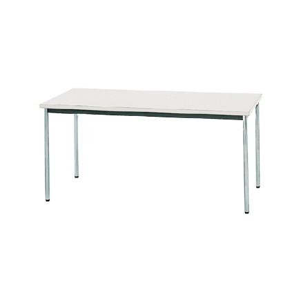 【送料無料】生興 MTS-1575OSW(ホワイト) テーブル [棚なし]【同梱配送不可】【代引き不可】【沖縄・北海道・離島配送不可】