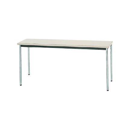 【送料無料】生興 MTS-1545OSG(ニューグレー) テーブル [棚なし]【同梱配送不可】【代引き不可】【沖縄・北海道・離島配送不可】