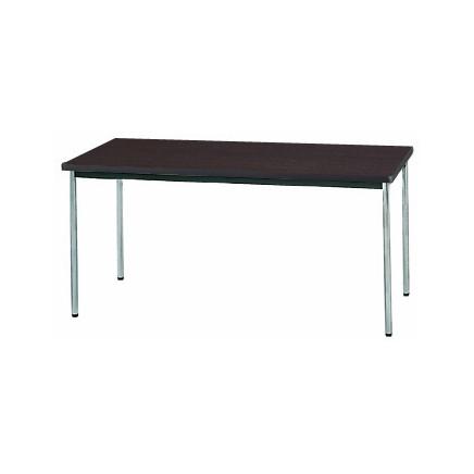 【送料無料】生興 MTS-1575OSD(Dブラウン) テーブル [棚なし]【同梱配送不可】【代引き不可】【沖縄・北海道・離島配送不可】