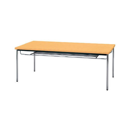 【送料無料】生興 MTS-1890ITP(Pアルダー) テーブル [棚付]【同梱配送不可】【代引き不可】【沖縄・北海道・離島配送不可】