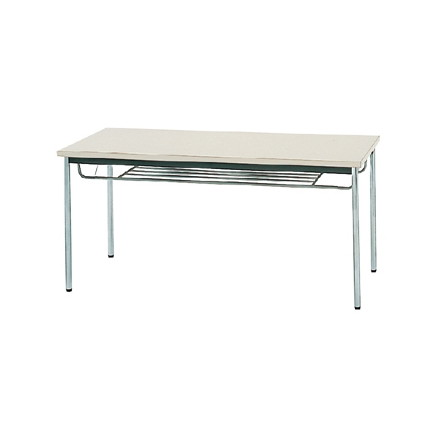【送料無料】生興 MTS-1575ITG(ニューグレー) テーブル [棚付]【同梱配送不可】【代引き不可】【沖縄・北海道・離島配送不可】