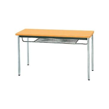 【送料無料】生興 MTS-1245ITP(Pアルダー) テーブル [棚付]【同梱配送不可】【代引き不可】【沖縄・北海道・離島配送不可】