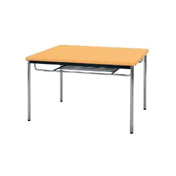 【送料無料】生興 MTS-0990ITP(Pアルダー) テーブル [棚付]【同梱配送不可】【代引き不可】【沖縄・北海道・離島配送不可】