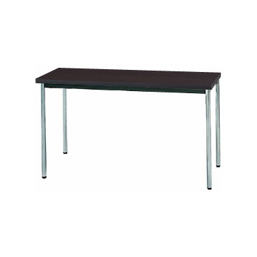 【送料無料】生興 MTS-1245OTD(Dブラウン) テーブル [棚なし]【同梱配送不可】【代引き不可】【沖縄・北海道・離島配送不可】