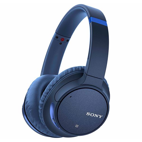 【送料無料】SONY WH-CH700N LM ブルー [ワイヤレスダイナミック密閉型ヘッドセット(Bluetooth・ノイズキャンセリング対応)]