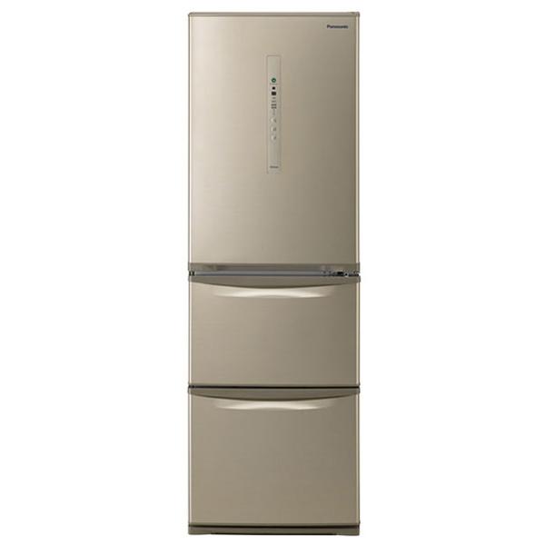 【送料無料】PANASONIC NR-C37HC-N シルキーゴールド [冷蔵庫(365L・右開き)] 【代引き・後払い決済不可】【離島配送不可】