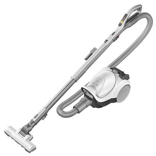 【送料無料】MITSUBISHI 三菱 TC-FXH5J-W ミルキーホワイト Be-K 紙パック式 掃除機 大掃除 コンパクト 大容量 フローリング 畳 吸引 軽量 ハイパワー キレイ 洗える 使いやすい
