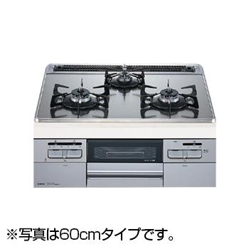 【送料無料】NORITZ N3WQ7RWASKSIE-13A Fami オートタイプ [ビルトインガスコンロ (都市ガス用・左右強火力・幅75cm)]