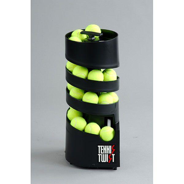 【送料無料】ボール出し機 テニス コンパクト Tennis Tutor AP-TM-DC トスマシン [テニスマシン(ツイストDC・単一電池6個使用)]【同梱配送不可】【代引き不可】【沖縄・北海道・離島配送不可】テニス用品 球出し 練習 軽量