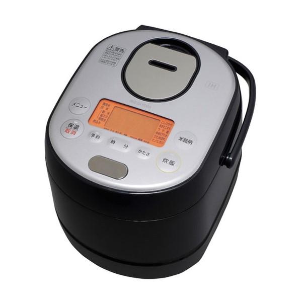 【送料無料】アイリスオーヤマ RC-SA30-B ブラック 銘柄炊き [分離式IHジャー炊飯器(3合炊き)]