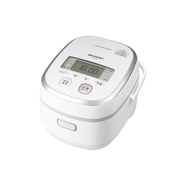 【送料無料】SHARP KS-HA10-W ホワイト系 [IHジャー炊飯器 (5.5合炊き)]