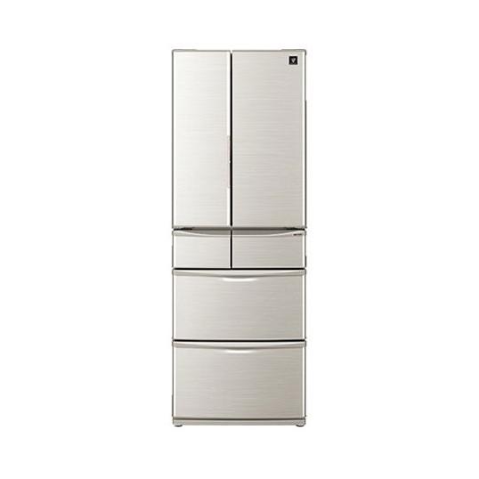 【送料無料】SHARP SJ-F462D シルバー系 [プラズマクラスター冷蔵庫(455L・フレンチドア 「センターピラーレス」フレンチドア 新鮮冷凍・おいそぎ冷凍] 【代引き・後払い決済不可】【離島配送不可】