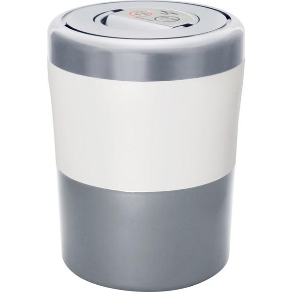 乾燥させるだけで変わる生活 島産業 激安挑戦中 PCL-33-GSW グレイッシュシルバー パリパリキューブライトアルファ 家庭用生ごみ減量乾燥機 毎週更新