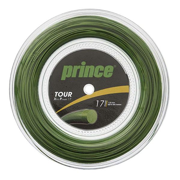 【送料無料】prince 7J930 R TOUR XP 17 GRN グリーン [テニスガット硬式用]