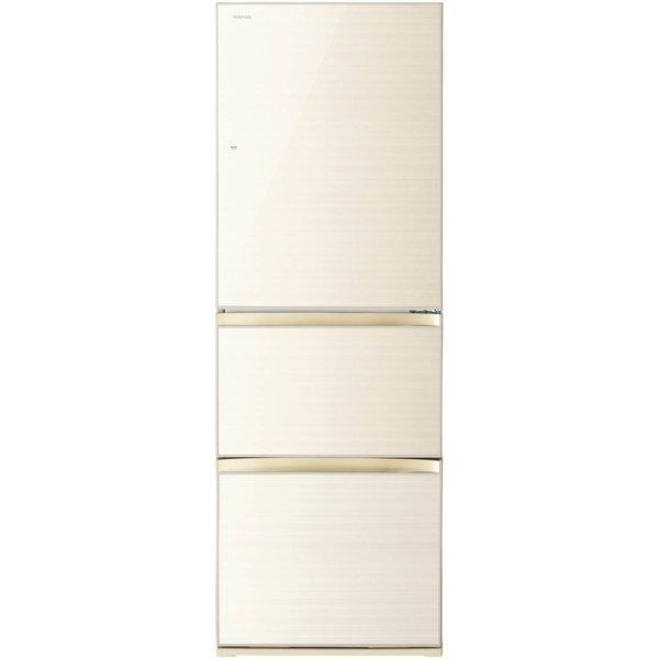 【送料無料】東芝 GR-M36SXV(ZC) ラピスアイボリー VEGETA(ベジータ) [冷蔵庫(363L・右開き・3ドア)]