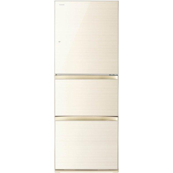 【送料無料】東芝 GR-M33SXV(ZC) ラピスアイボリー VEGETA(ベジータ) [冷蔵庫(330L・右開き・3ドア)]