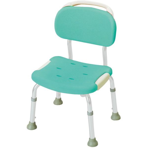 【送料無料】Richell(リッチェル) やわらかシャワーチェア 背付コンパクト グリーン 標準タイプ [介護 福祉 医療 病院 介助 浴室 お風呂 おふろ]