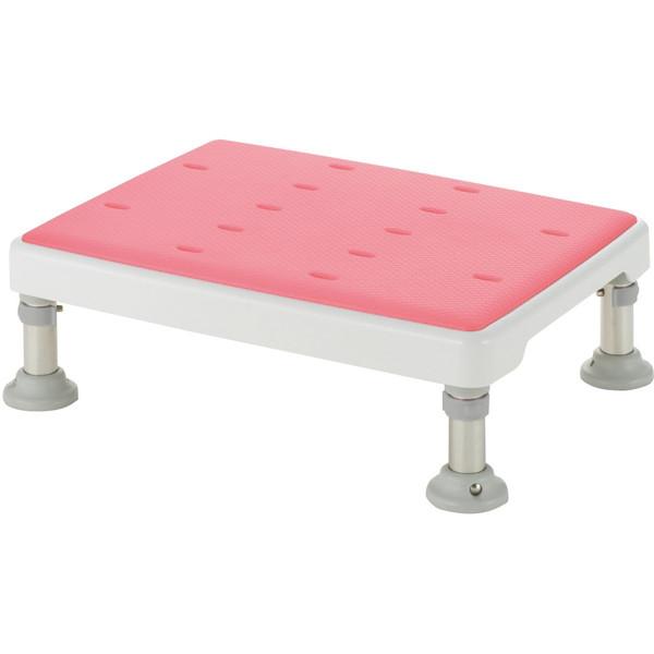 【送料無料】Richell(リッチェル) 浴槽台高さ調節付き やわらか ピンク L [介護 福祉 医療 病院 介助 浴室 お風呂 おふろ]