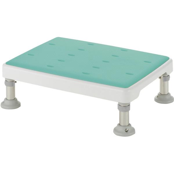 【送料無料】Richell(リッチェル) 浴槽台高さ調節付き やわらか グリーン L [介護 福祉 医療 病院 介助 浴室 お風呂 おふろ]