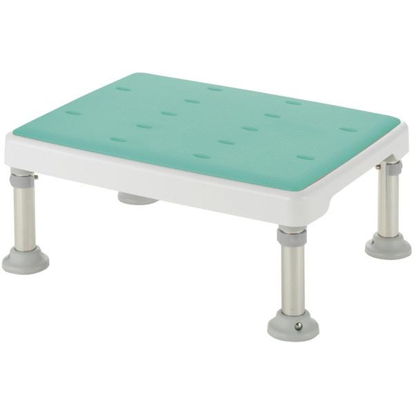 【送料無料】Richell(リッチェル) 浴槽台高さ調節付き やわらか グリーン M [介護 福祉 医療 病院 介助 浴室 お風呂 おふろ]