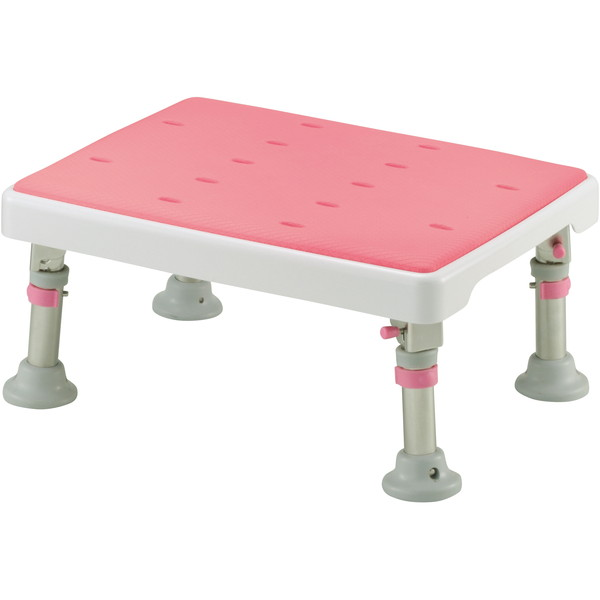 Richell(リッチェル) 折りたたみ浴そう台パタピタくんやわらか ピンク [介護 福祉 医療 病院 介助 浴室 お風呂 おふろ]