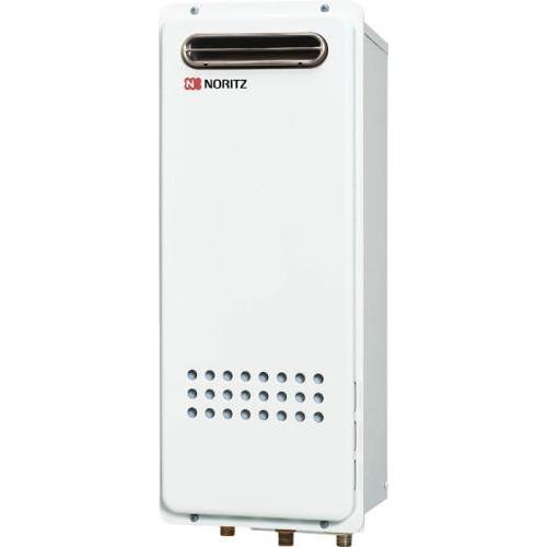 NORITZ GQ-1628WS-BL-13A [ガス給湯器(都市ガス用) 給湯専用 屋外壁掛形スリムタイプ オートストップ 16号]