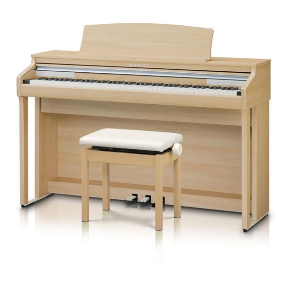 【送料無料】KAWAI CA48LO プレミアムライトオーク調 Concert Artist [電子ピアノ(88鍵盤)]【同梱配送不可】【代引き不可】【沖縄・北海道・離島配送不可】