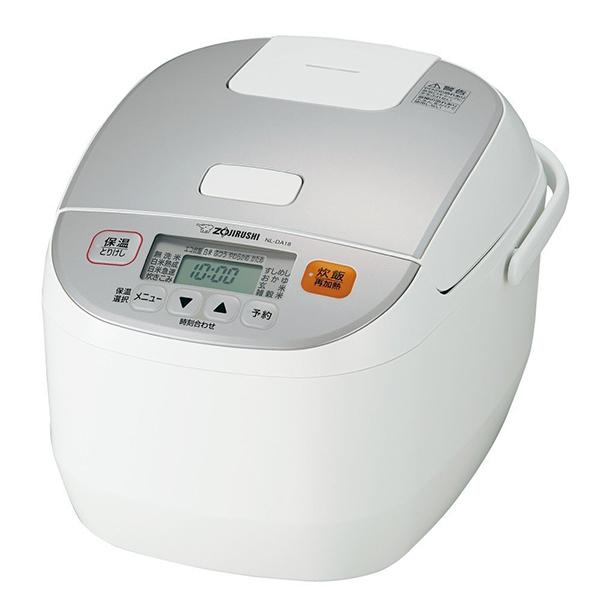 【送料無料】象印 NL-DA18-WA ホワイト系 極め炊き [マイコン炊飯器(10合炊き)]