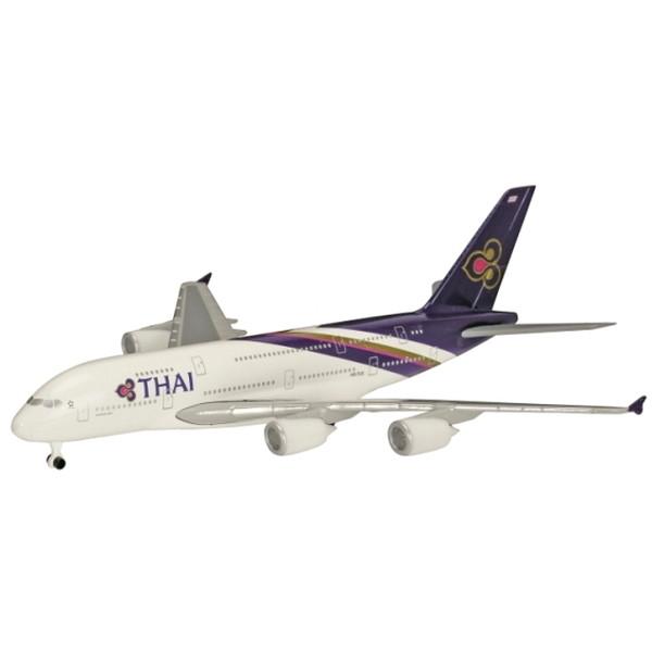 送料無料お手入れ要らず 手頃な価格とスケールでモデル化された旅客機シリーズ 無料サンプルOK シュコー A380-800 タイ国際航空 航空機モデル 600 1