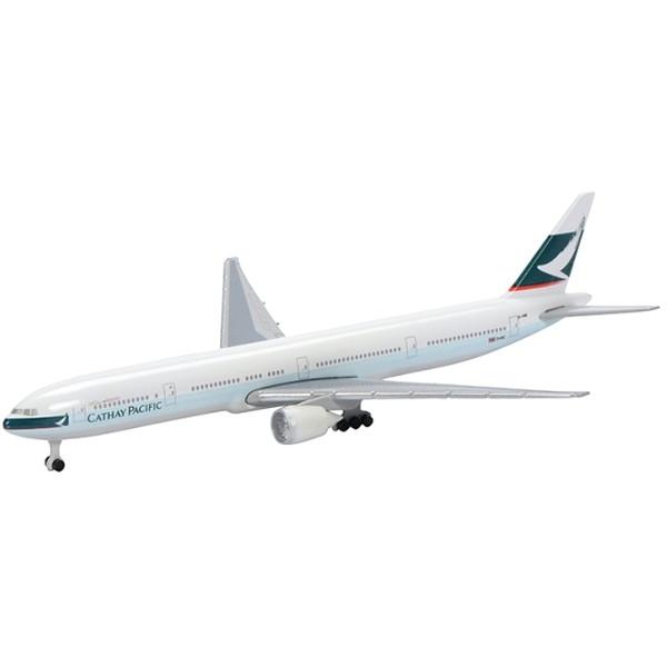 手頃な価格とスケールでモデル化された旅客機シリーズ シュコー 送料無料 B777-300 キャセイパシフィック 新作販売 600 航空機モデル 1