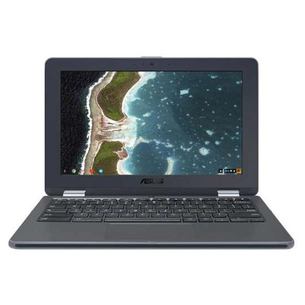 【送料無料】ASUS C213NA-N3350 ダークグレー Chromebook Flip [コンバーチブルノートパソコン 11.6型ワイド液晶 eMMC:32GB]