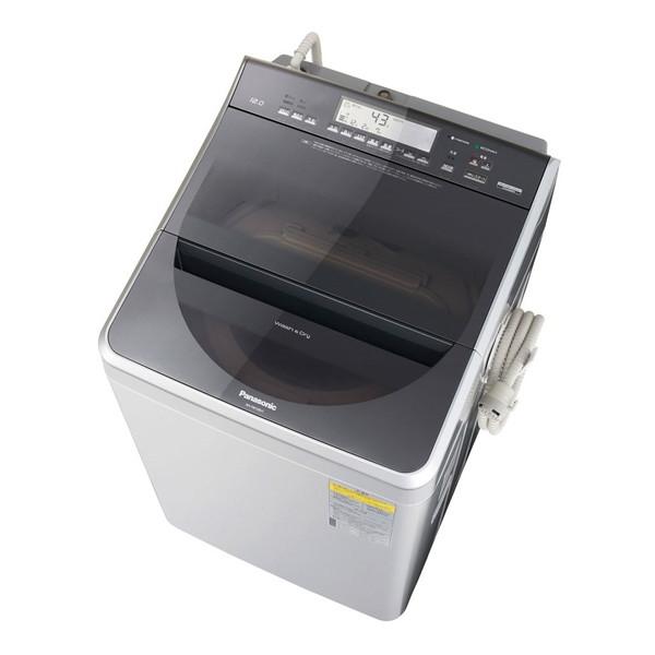 【送料無料】PANASONIC NA-FW120V1 シルバー [洗濯乾燥機 (洗濯12.0kg/乾燥6.0kg)] 【代引き・後払い決済不可】【離島配送不可】