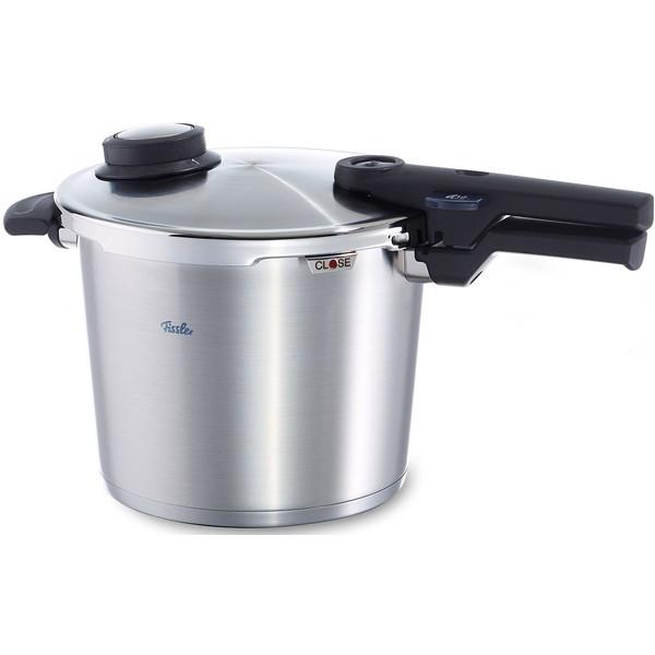 【送料無料】Fissler 91-06-00-511 コンフォート プラス [圧力鍋(6.0L/蒸し器・三脚×2)]