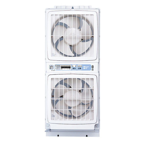 【送料無料】換気扇 窓用 高須産業 FMT-200SM ウィンドウ・ツインファン ミニリモコン付 送風 サーキュレーター空気循環効果 簡単取り付け 温度センサー 防虫フィルター エアコン入らず 涼風 涼しい