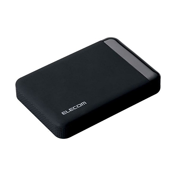 【送料無料】ELECOM ELP-EEN020UBK ブラック [ポータブルハードディスク(USB3.0・HW暗号化・PW保護・2TB)]【同梱配送不可】【代引き不可】【沖縄・離島配送不可】