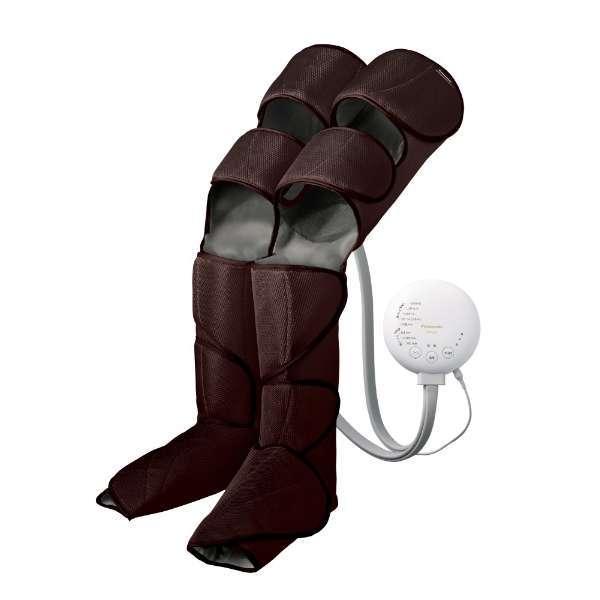 【送料無料】パナソニック レッグリフレ EW-RA98-T ダークブラウン エアーマッサージャー PANASONIC マッサージ器 脚全体 太もも ひざ裏 温感 むくみ 疲労回復 血行促進 筋肉痛