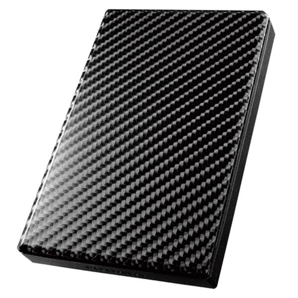 【送料無料】IODATA HDPT-UT1K カーボンブラック [外付けポータブルHDD (1TB・USB3.0/2.0対応)]