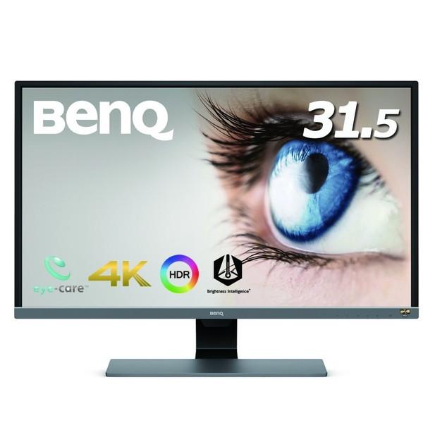 【送料無料】BENQ EW3270U メタリックグレー [31.5型ワイド液晶ディスプレイ 4K(HDR対応)]