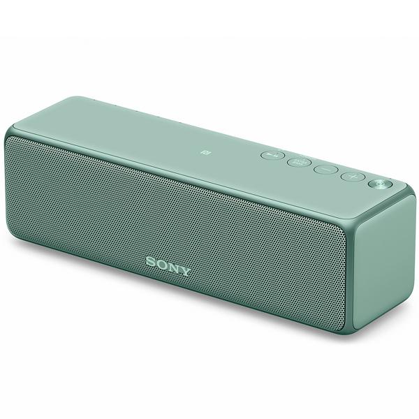 【送料無料】SONY SRS-HG1-G ホライゾングリーン h.ear go 2 [ワイヤレスポータブルスピーカー (ハイレゾ音源/Bluetooth対応)]