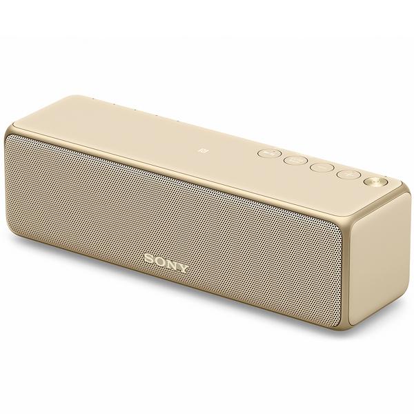 【送料無料】SONY SRS-HG1-N ペールゴールド h.ear go 2 [ワイヤレスポータブルスピーカー (ハイレゾ音源/Bluetooth対応)]