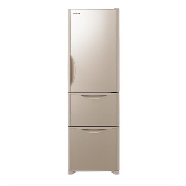 【送料無料】日立 R-S32JV(XN) クリスタルシャンパン Sシリーズ [冷蔵庫(315L・右開き・3ドア)]