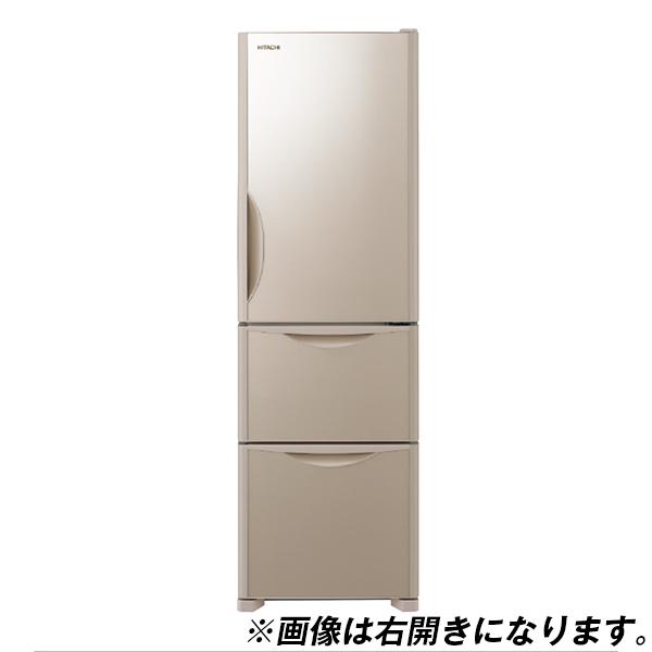 【送料無料】日立 R-S32JVL(XN) クリスタルシャンパン Sシリーズ [冷蔵庫(315L・左開き・3ドア)]