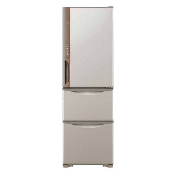 【送料無料】日立 R-K32JV(T) ライトブラウン Kシリーズ [冷蔵庫(315L・右開き・3ドア)] 【代引き・後払い決済不可】【離島配送不可】