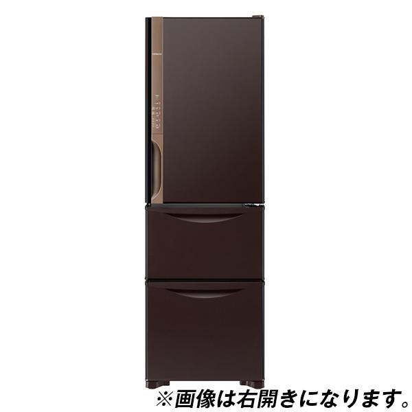 【送料無料】日立 R-K32JVL(TD) ダークブラウン Kシリーズ [冷蔵庫(315L・左開き・3ドア)]