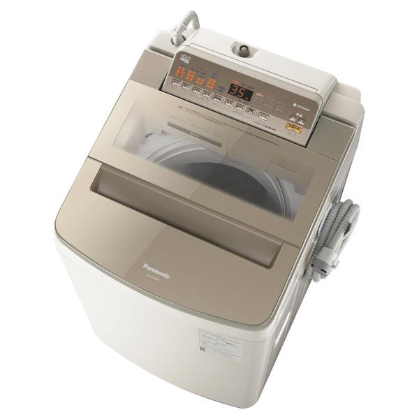 【送料無料】PANASONIC NA-FA100H6-T ブラウン [全自動洗濯機 (洗濯10.0kg)]