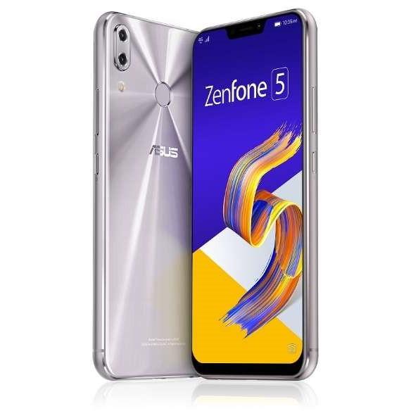 【送料無料】ASUS ZE620KL-SL64S6 スペースシルバー Zenfone 5 [SIMフリースマートフォン]